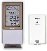 Термометр цифровой электронный RST02555 IQ555 с барометром беспроводная <b>барометрическая</b> погодная станция с терморадиодатчиком